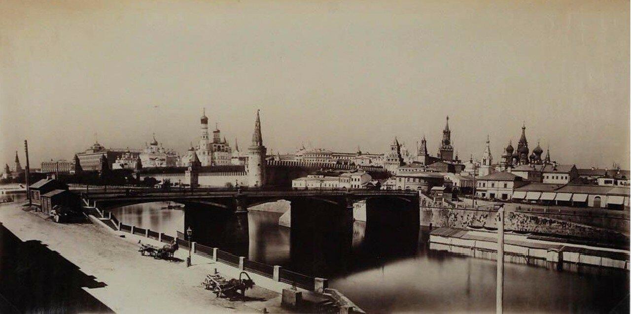 1880-е. Панорама Москвы
