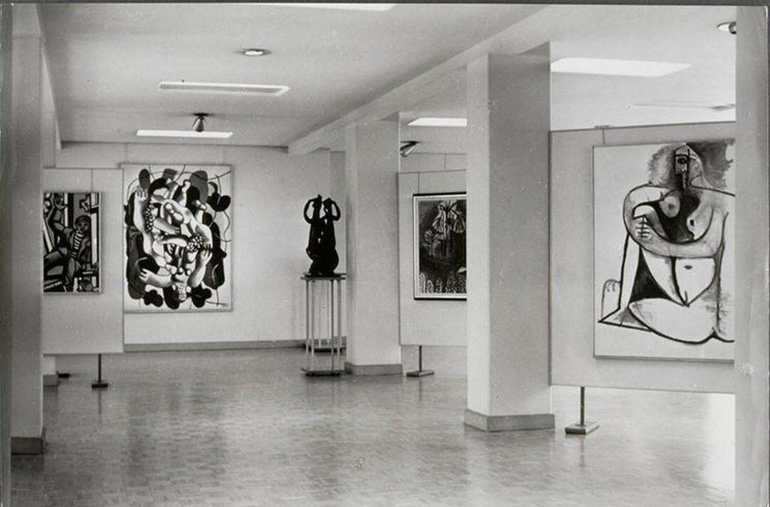 1962. Галерея Луизы Лейрис, улица Монсо, Париж
