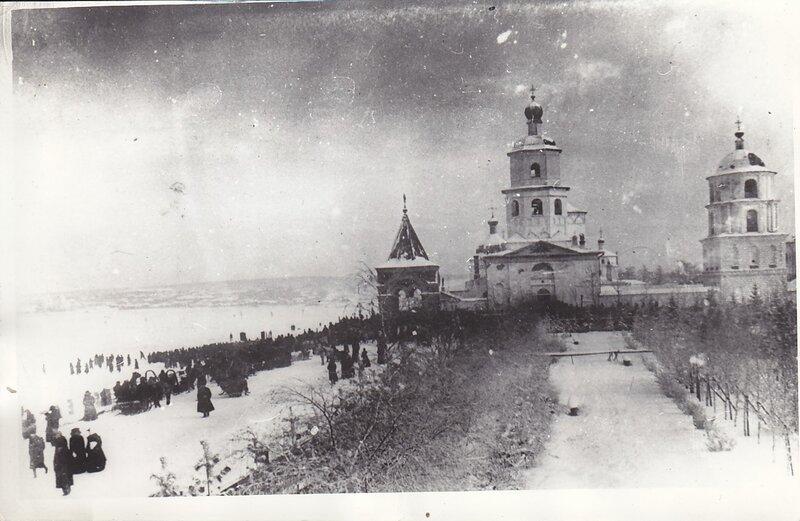 Богоявленский Собор в храмовый праздник