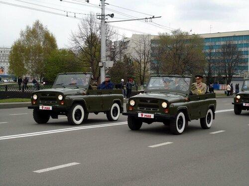 г Новокузнецк. Парад военной техники