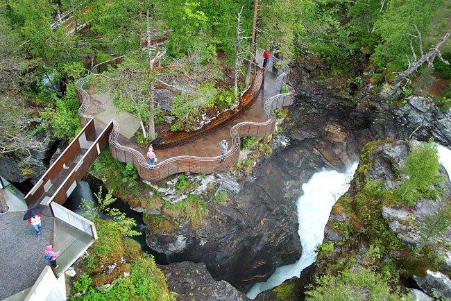 Дизайн на службе туризма или креативные методы привлечения туристов. Норвегия.