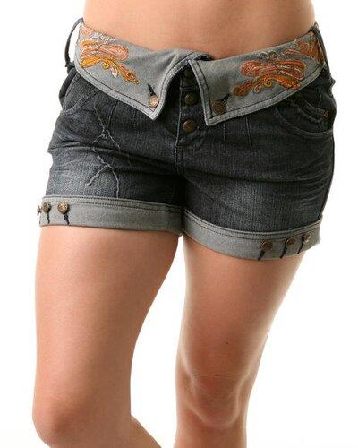 как сделать мужские джинсовые шорты из старых - Сумки.