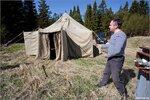 Палатка мэра Соловков
