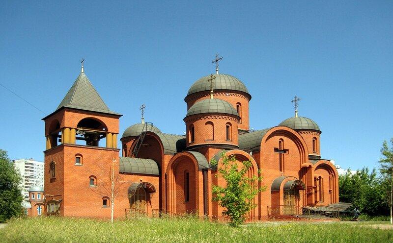 Церковь Николая Чудотворца в Отрадном!!!