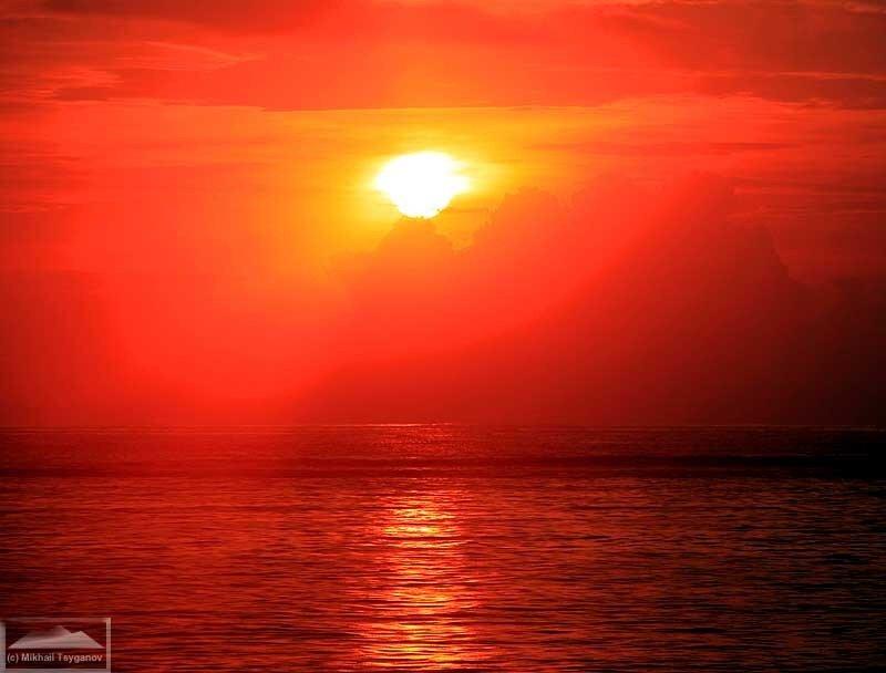 Восход в Нуса-Дуа