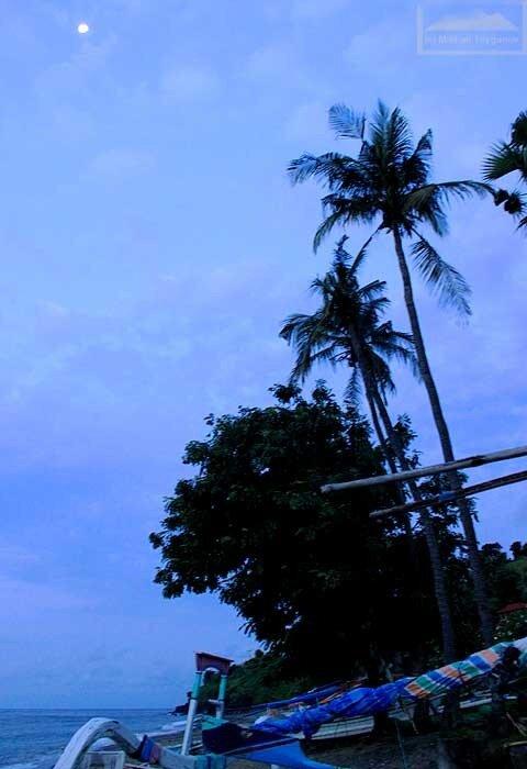 Закат в Бунутане