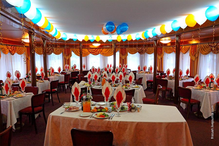 Панорамный ресторан на 60 человек