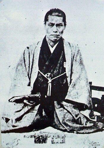 Кондо Исами один из командиров отряда Синсэнгуми.