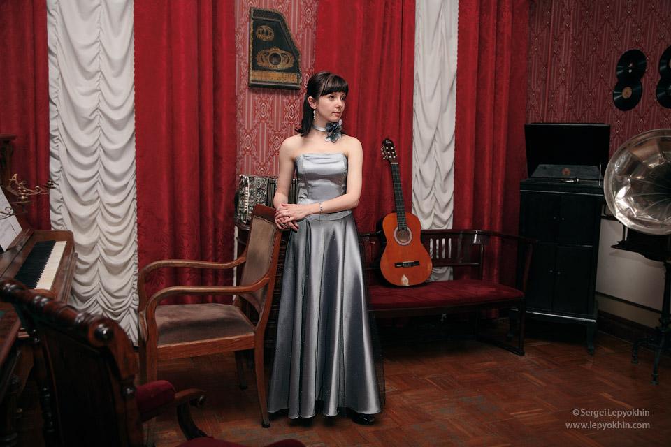 Такими были интерьеры царицынских гостиных 18-19 веков. Акция «Ночь в музее» в Волгоградском областном краеведческом музее.