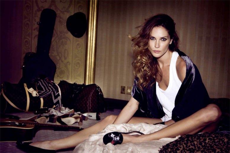 модель Эрин Воссон / Erin Wasson, фотограф Santiago Esteban
