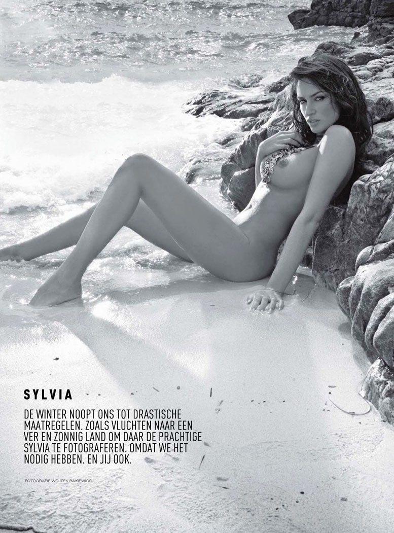 эротическая модель Sylvia, фотограф Wojtek Bakiewics