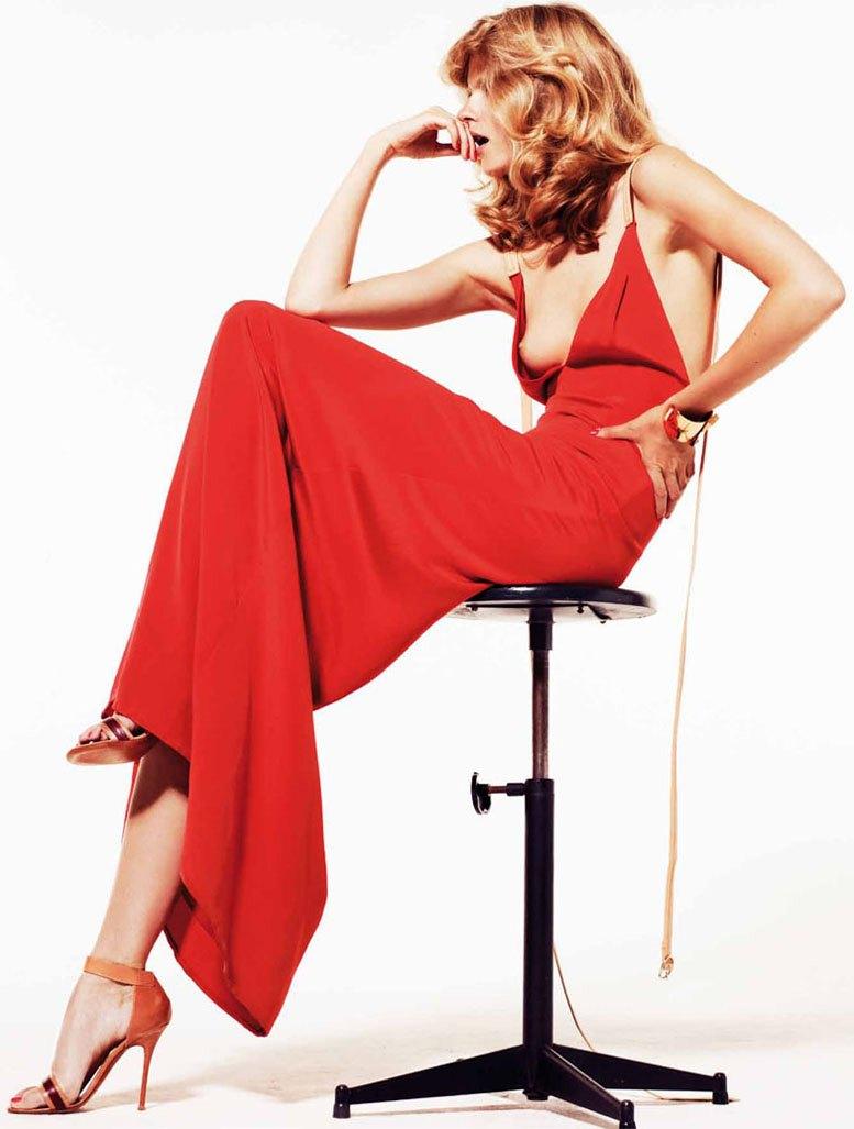 модель Джулия Стенер / Julia Stegner, фотограф Philip Gay