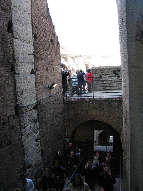 Рим. Амфитеатр Флавия - Колизей (Anfiteatro Flavio, Colosseo)
