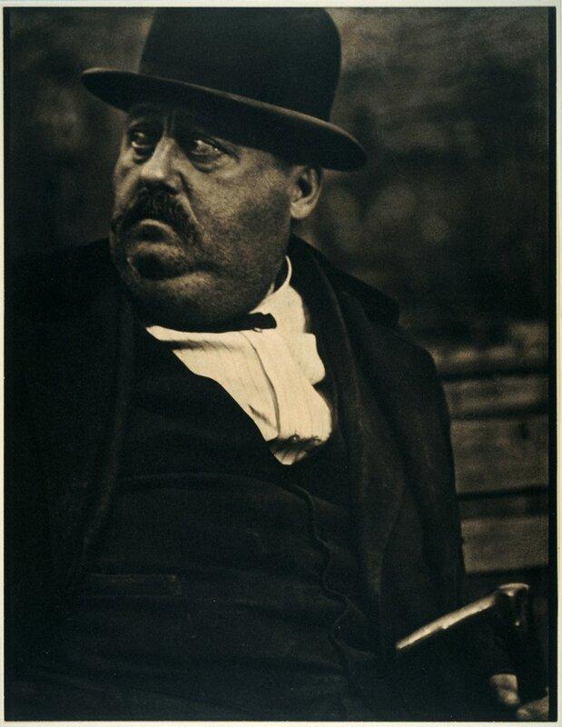 Paul Strand, American, (1890 – 1976) Man in a Derby, New York 1916