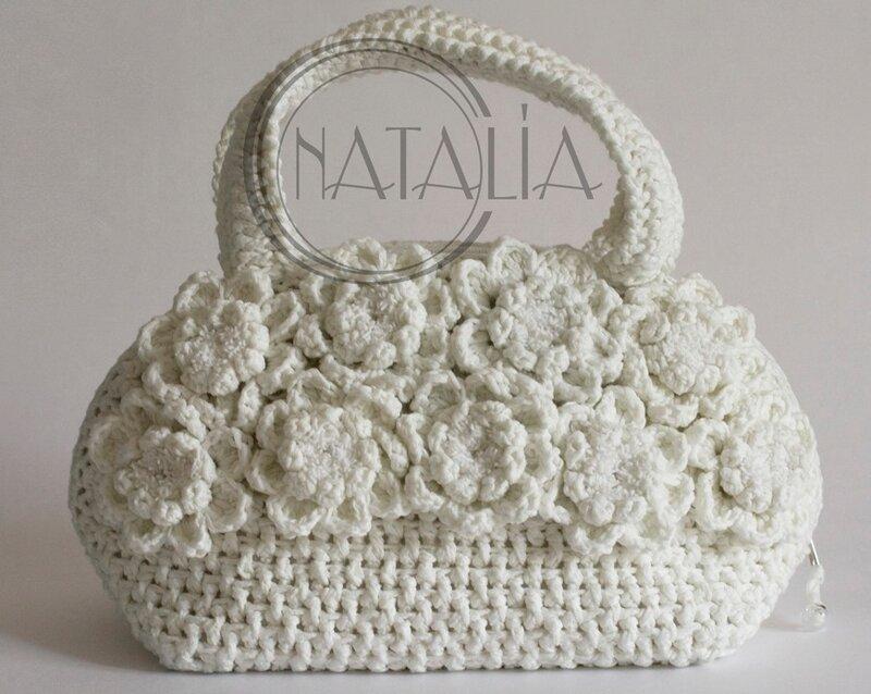 Crochet Craft Bag : crafts bags: crochet spring bag - crafts ideas - crafts for kids