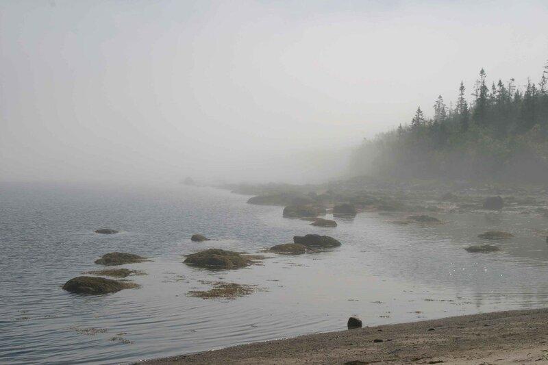 Архипелаг Кузова - туман
