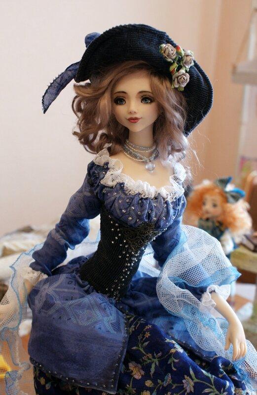 Куклы с полимерной глины своими руками