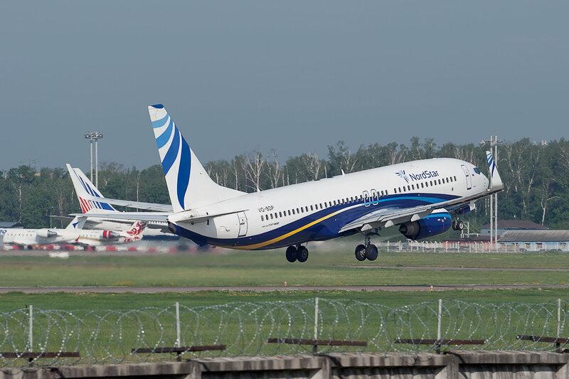 Boeing 737-8Q8 (VQ-BDP) Nordstar DSC2810
