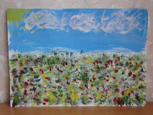 Рисунки природы акварелью, Эльвира Васильева