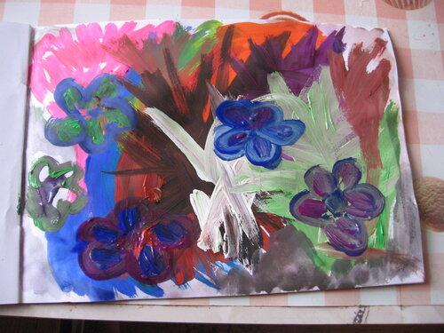 Рисунки красками, акварелью, Мария Юнак