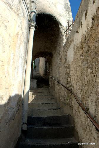 Дорога на Кладбище в Амальфи