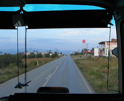 From bus, between Psakoudia and Moudanja