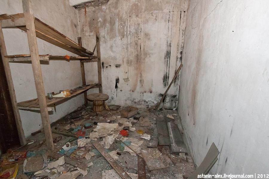 Подтрамплинные помещения 3