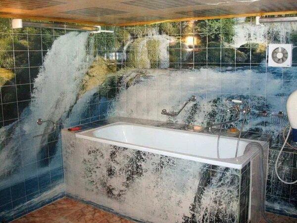 кафель в ванну фото