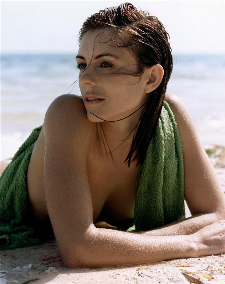 модель Элизабет Харли / Elizabeth Hurley, фотограф Steven Meisel