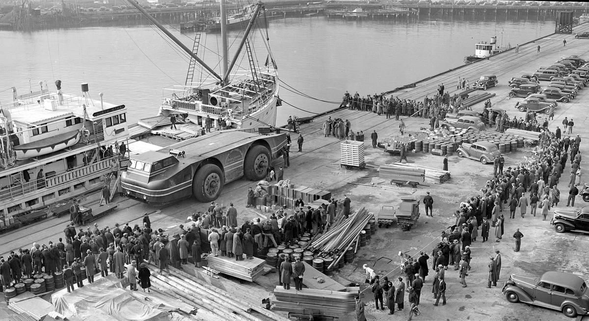 Снежный крейсер: История одного неудачного американского проекта по исследованию Арктики (1939 год) (11)