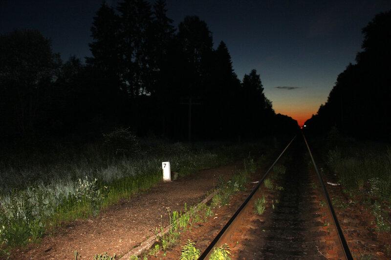 Платформа 156 км на перегоне Осуга - Рождествено
