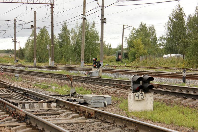 Чётные выходные по станции Непецино, вид на Воскресенск