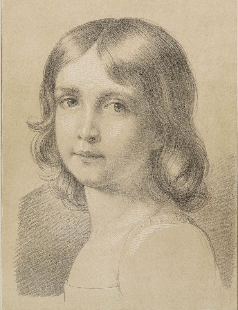 После Stieler, Джозеф Карл (1781-1858)Софи, принцесса, Эрцгерцогиня Австрии, супруга Франца Карла, эрцгерцога Австрии, дочь Максимилиана I, короля Баварии