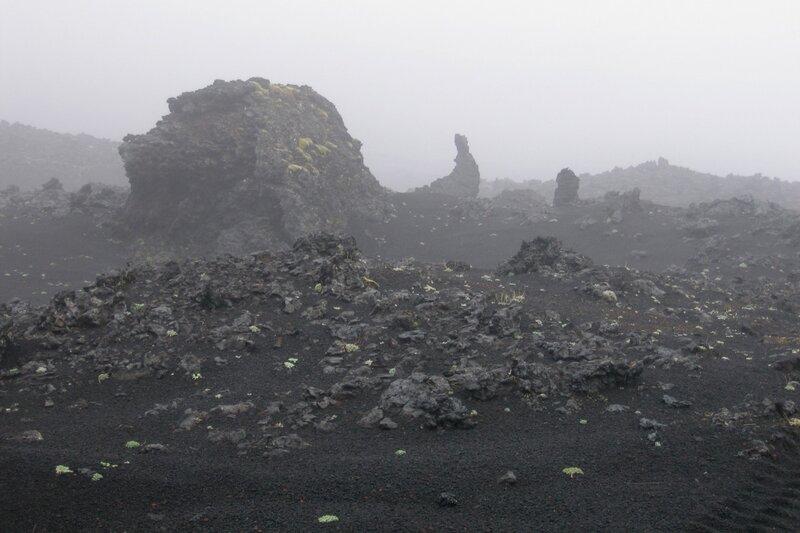 Вулканические бомбы, Толбачик, Камчатка