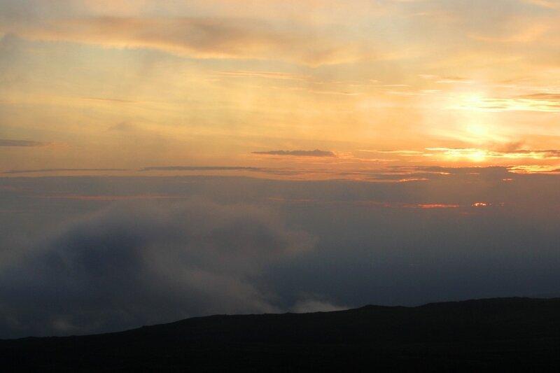 Закат на Толбачике