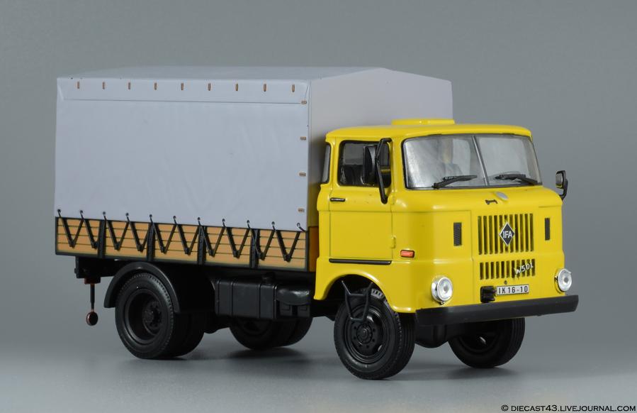 IFA W50L DDR Nutzfahrzeuge (DDR Trucks)