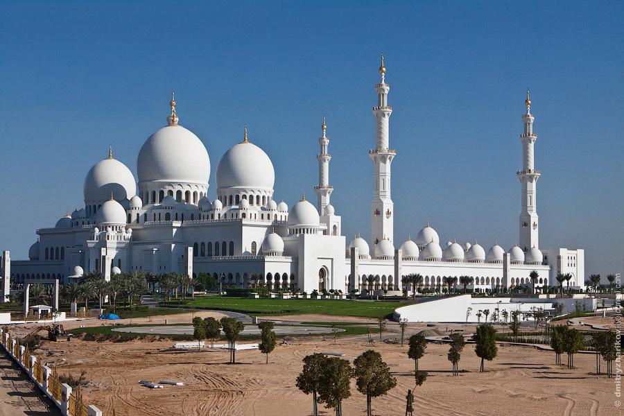 абу даби мечеть шейха зайда фото