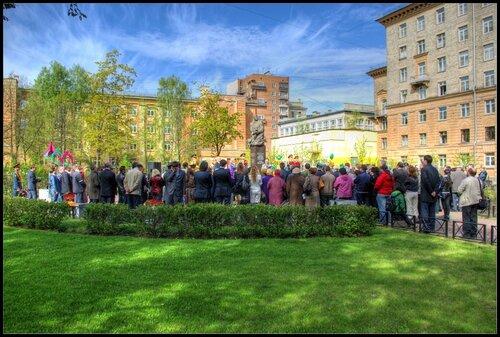 «Открытие памятника Мусе Джалилю. Санкт-Петербург. 19 мая 2011.