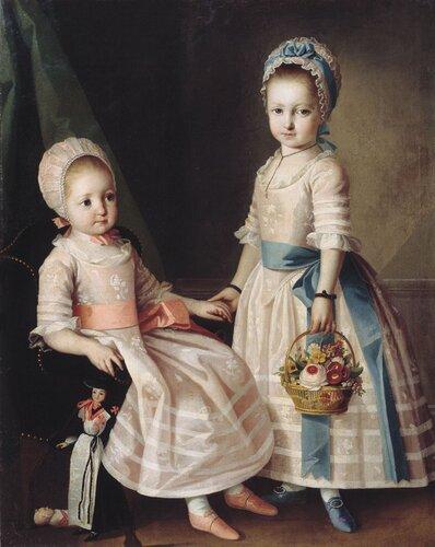 В стиле 19 века для девочек