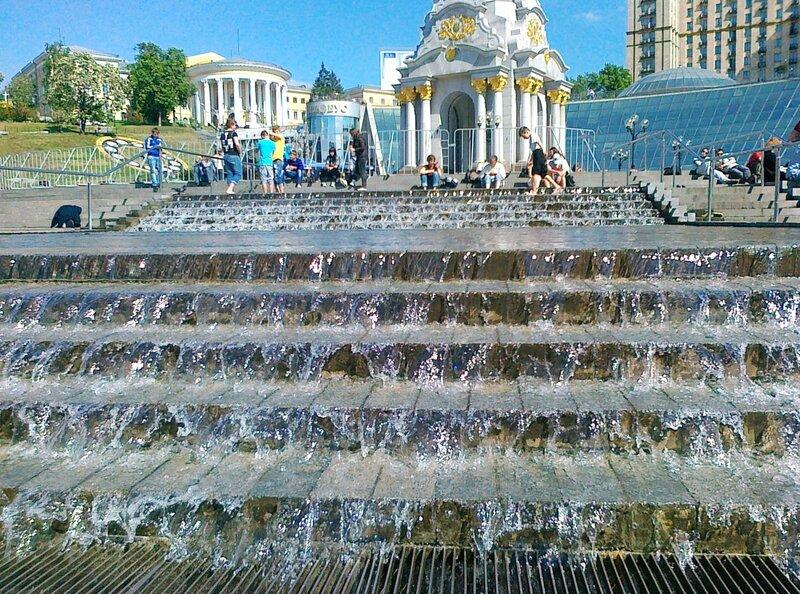 Каскад на Майдане Незалежности