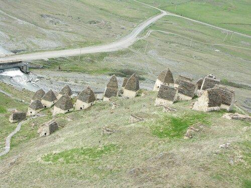 Даргавс с высоты башни