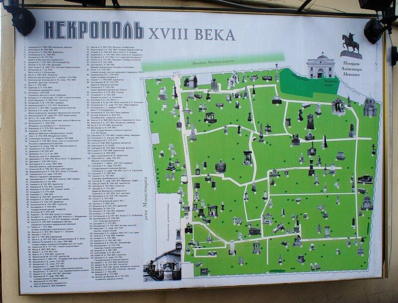 Лазаревское кладбище было