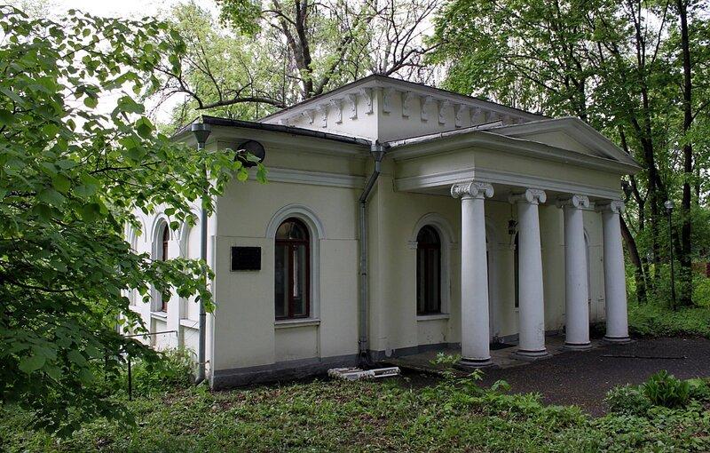 Павильон - усадьба Бардыгиных - Марков