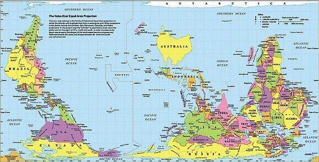 Будущего интервью обратная карта мира