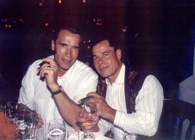 Арнольд Шварценеггер (Arnold Schwarzenegger), Франко Коломбо (Franco