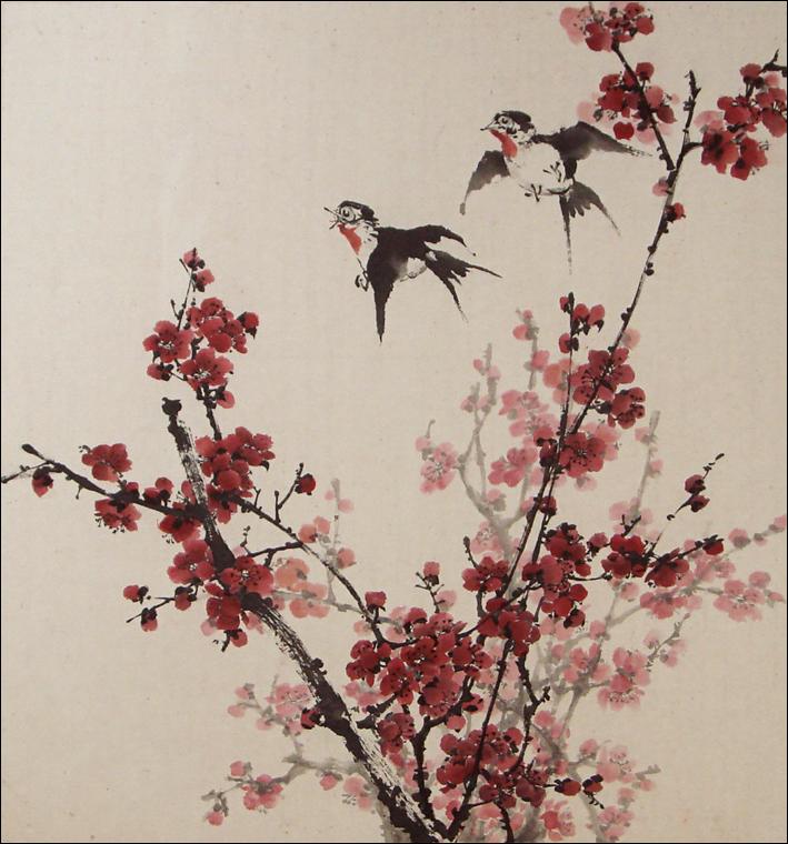 Китайская живопись сакура, бесплатные ...: pictures11.ru/kitajskaya-zhivopis-sakura.html