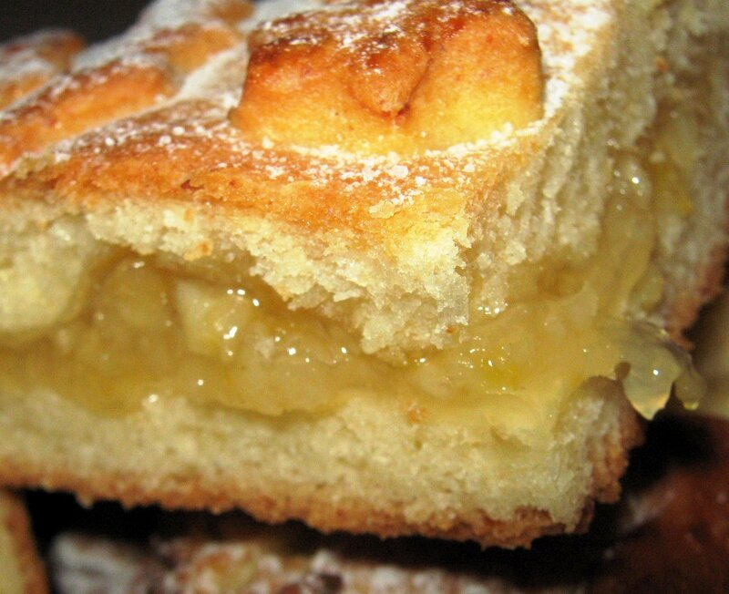 Пирог с творогом и лимоном рецепт