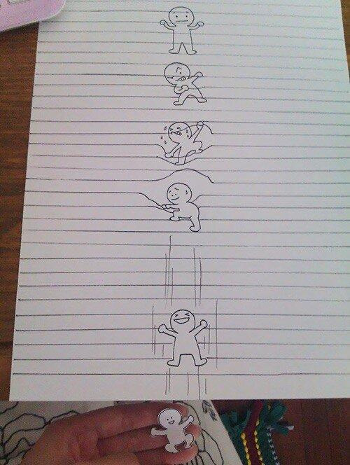 необычные рисунки