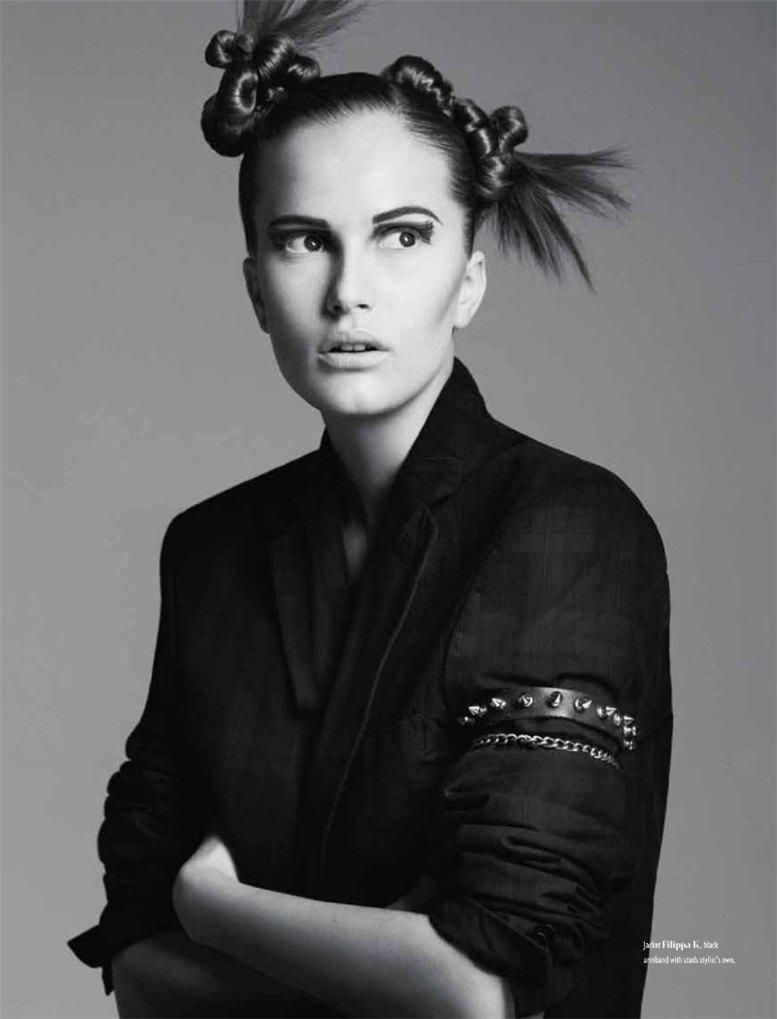 модель Алла Костромичева / Alla Kostromicheva, фотограф Ben Weller
