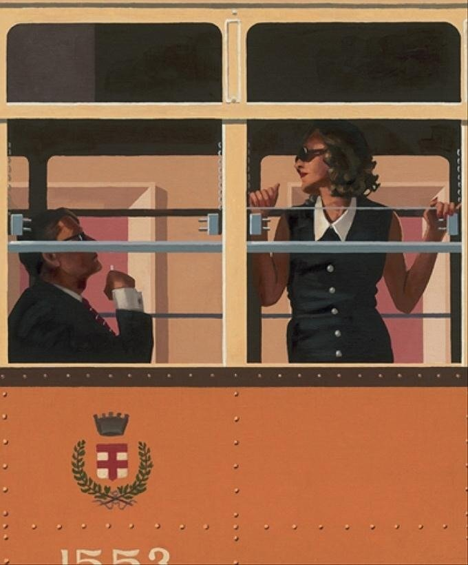 The Look Of Love, by Jack Vettriano